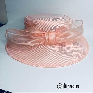 Josette Organza Bow Sun Hat